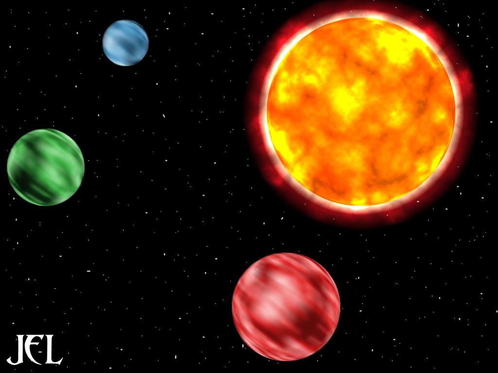 Sistema Solar con Photoshop 10