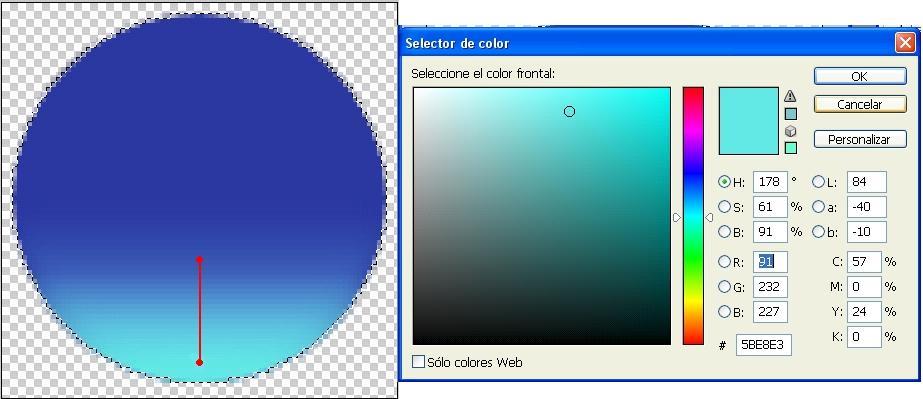 ´tutorial Photoshop Botón de agua 05
