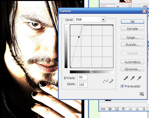 Diferentes efectos en photoshop