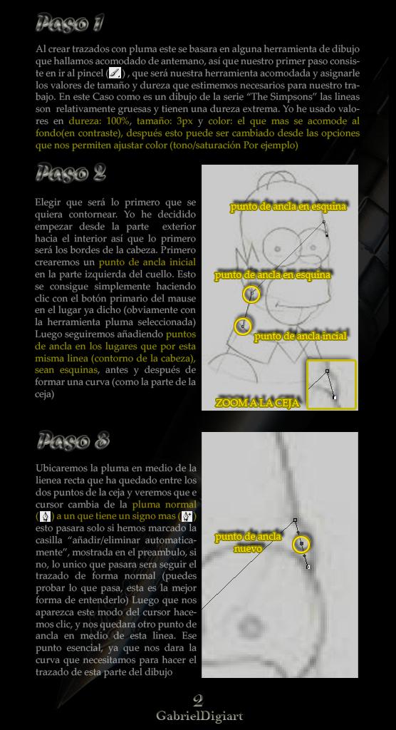 tutorial photoshop Selecciones y Trazados con la Herramienta Pluma 02