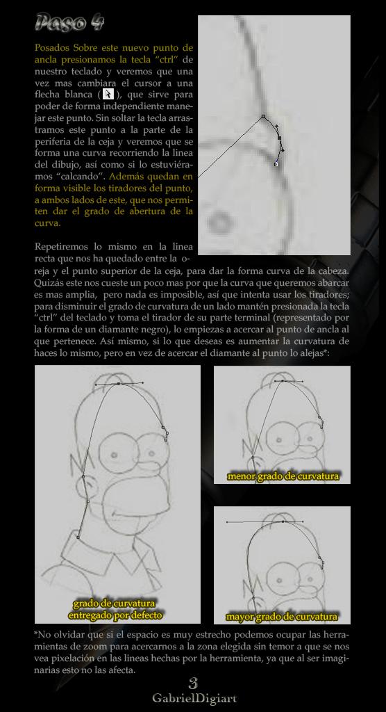 tutorial photoshop Selecciones y Trazados con la Herramienta Pluma 03