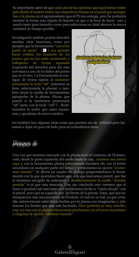 tutorial photoshop Selecciones y Trazados con la Herramienta Pluma 04
