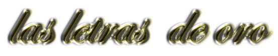 letras bañadas de oro 08