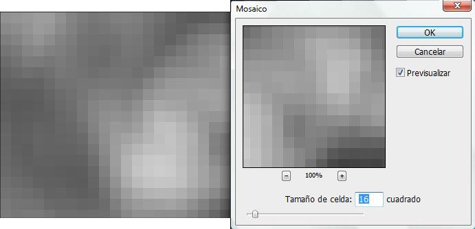 Filtro Pixelizar Mosaico