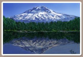 Pintando un Paisaje Montañoso