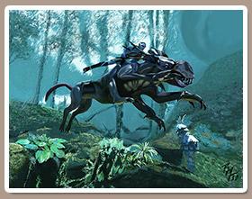 Pintura Digital: Pintando una Escena Avatar