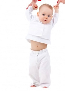 Etapas de aprendizaje del bebe en su primer año de vida