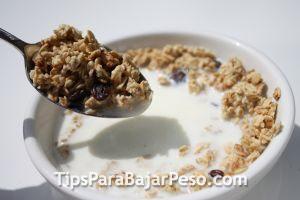 No Remover las Grasas del Desayuno