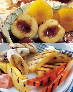 frutas parrilla