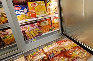 Valor nutricional de los alimentos congelados