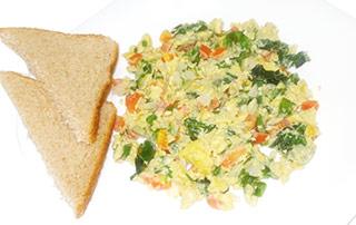 Huevos con espinacas, un desayuno súper nutritivo y natural