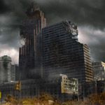 Create A Distressed Surreal Cityscape - Matte Painting