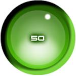 Sleek Green Sphere Preloader in Flash