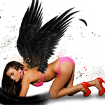 Create a Dark and Sexy Angel with Photoshop