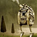 Create a Walking Bone House in Photoshop
