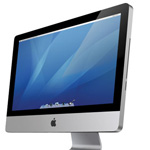Realistic iMac Icon in Photoshop