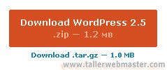 Descargar WordPress 2.5