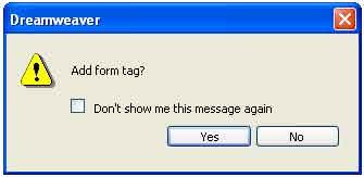 Tag HTML del Formulario