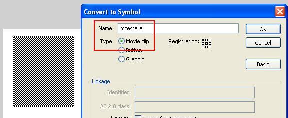 MovieClip mcesfera