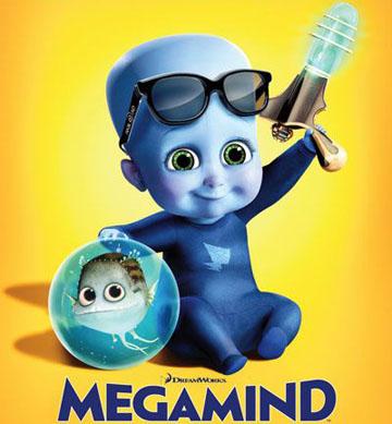 Megamind Animación. Infantil