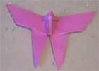 hacer una mariposa en origami
