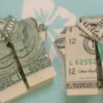 camiseta en origami