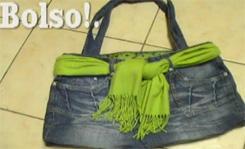 reciclar tus jeans y conviertelos en un boloso