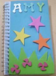 decorar utiles escolares
