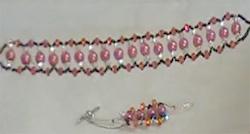 pulsera con perlas
