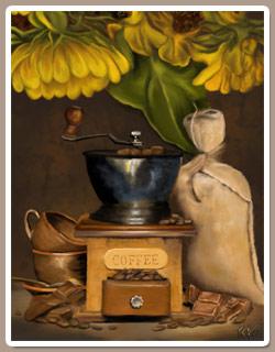 Café y Chocolate al Oleo