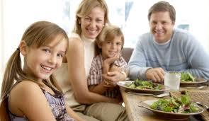 Importancia de Comer en Familia